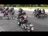 Germany 200 Hells Angels protest ban on insignia in Berlin