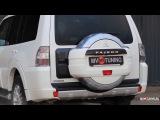 Бокс производства MV-TUNING на запасное колесо Pajero 4