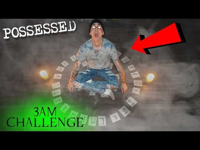 (POSSESSED) SCARIEST OUIJA BOARD GAME IN THE WORLD AT 3AM CHALLENGE *THE COMPASS GAME GONE WRONG*