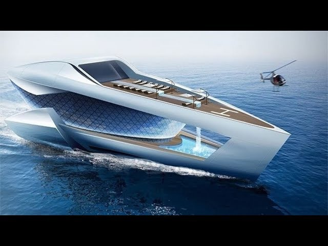 Most Luxurious Futuristic Yachts In The World