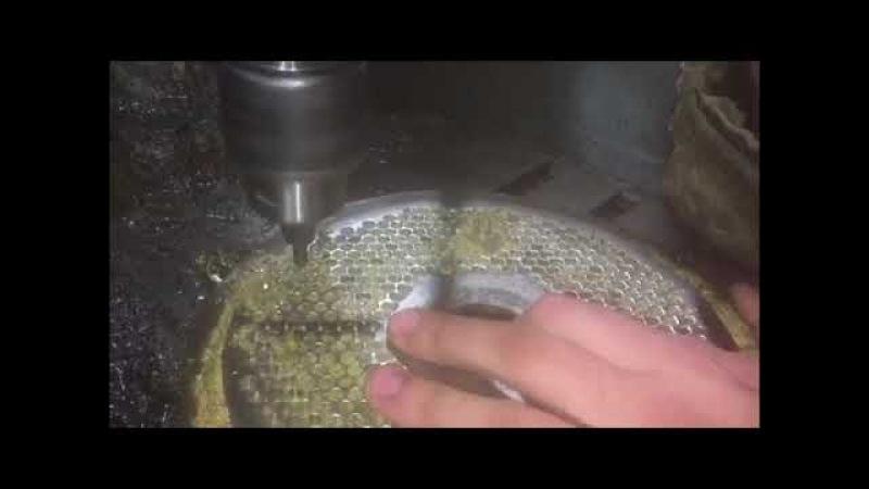 Реставрация Матрицы и Роликов Гранулятора Restoration of the Matrix and Rollers of the Granulator