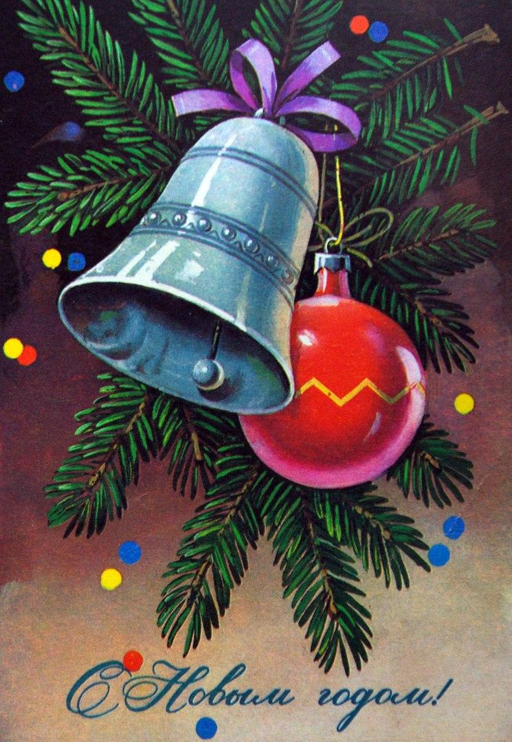 Открытки, рисунок в виде открытки на новый год