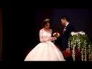 Церемония регистрации заключения брака молодых супругов на мероприятии посвященном 100 летию органов ЗАГС России