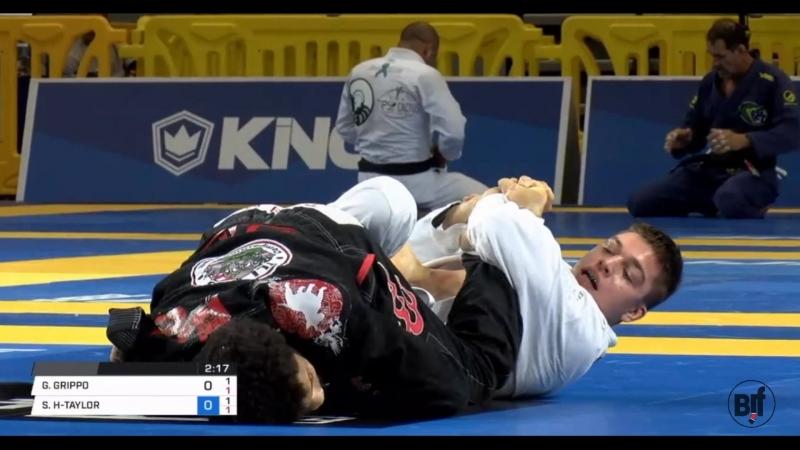 Gianni Grippo vs Jamil Hill IBJJFPAN18 Final