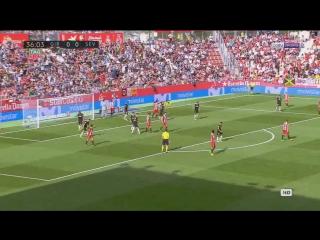 Жирона - Севилья   обзор матча