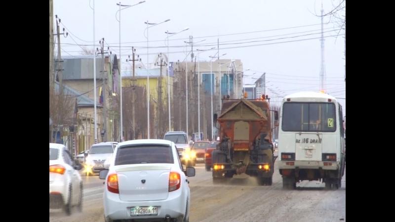 Құрметті қала кәсіпкерлері және қала тұрғындары! Бүгін, Қызылорда қаласында жауын-шашын салдарынан қалыптасқан қатқақ кезінде қ