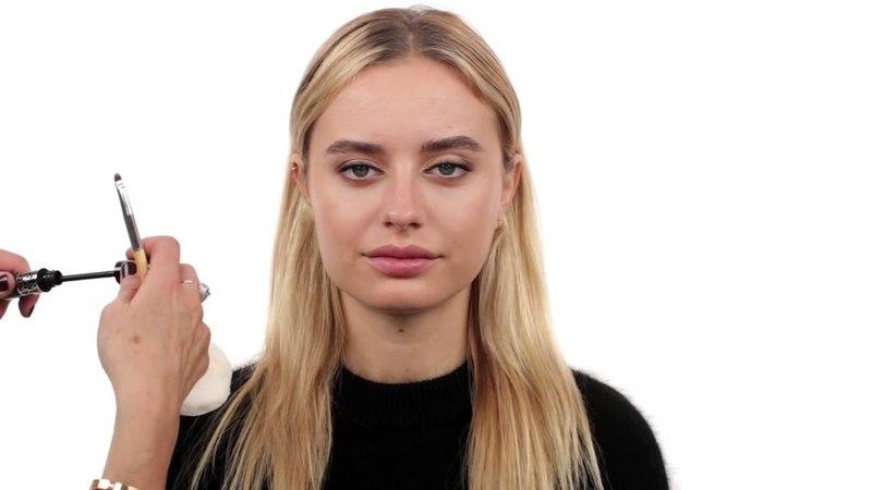 Rosie Huntington Whiteley Makeup Golden Globes 2016 on Sonya Esman