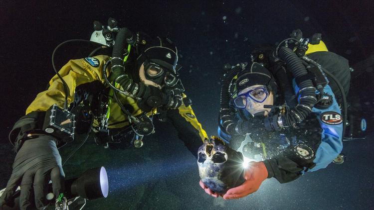юкатан пещеры скелеты