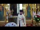 Проповедь о Игоря Всенощное бдение Вознесение Господне 2017