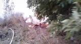 Пожар в Хромтау 2