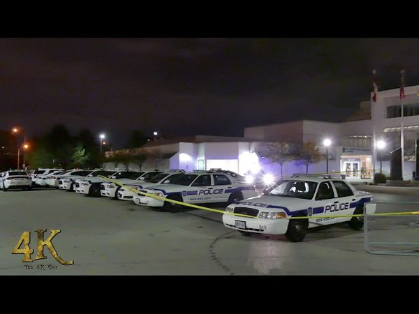Brampton Cop shoots at suspect trying to run them over 10-28-2016