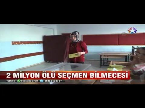 Ak Parti ile CHP arasındaki 2 Milyon ölü seçmen tartışması