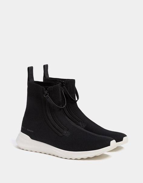 Мужские спортивные ботинки с молниями