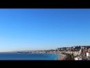 Франция Ницца Английская набережная из отеля Hyatt Regency Nice Palais de la Mediterranee