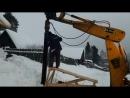 Монтаж винтовых свай Д 219 мм длинной ствола 4 0 метра