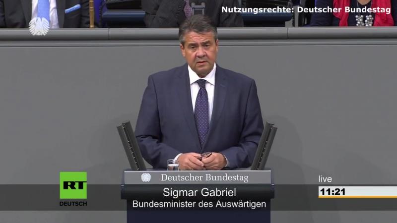 Gabriel- -Liberale und freiheitliche Weltordnung über deutsche Grenzen hinaus verteidigen-