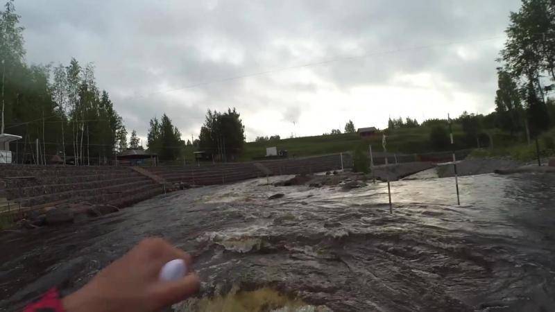 River SUP Окуловский слаломный канал