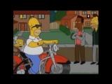 Как Гомер Симпсон становился байкером.