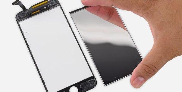 Замена дисплея на iPhone в видном
