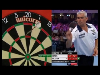 Adrian Lewis vs Steve Beaton (PDC World Matchplay 2017 / Round 1)