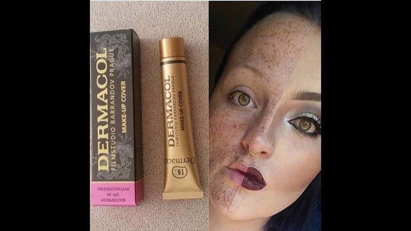 Тональный крем Dermacol с ультра-маскирующим эффектом - преобразит ваше лицо!