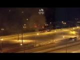 Пожар в доме на Старцева. Пермь 15 марта 2018