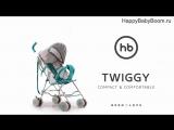 Детская прогулочная коляска  TWIGGY happy baby