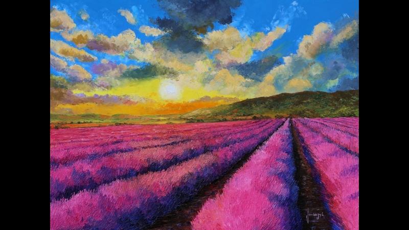 Landscape paintings of Jean-Marc Janiaczyk