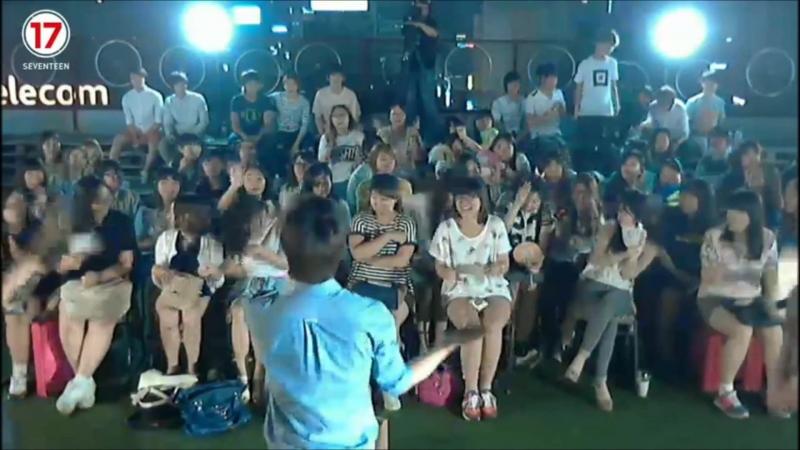 140712 LAST SEVENTEEN TV Seungkwan Jisoo Seokmin 찹쌀떡 - 10cm