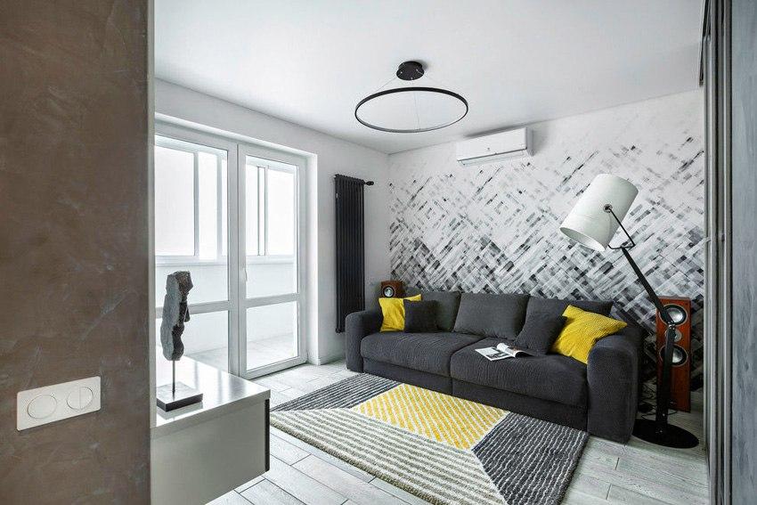 Интерьер квартиры 50 м в Серпухове.