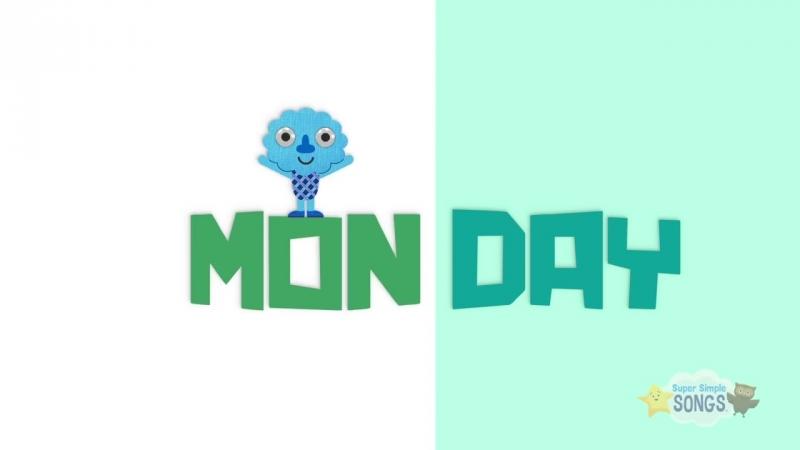 Days Of The Week Song _ Kids Songs _ Super Simple Songs