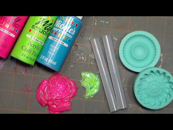 Easy Hot Glue Embellishments!