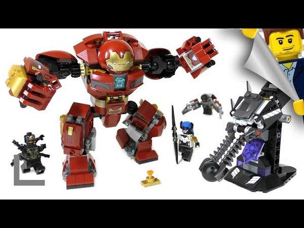 Обзор набора Lego Super Heroes 76104 Бой Халкбастера (The Hulkbuster Smash-Up)