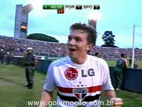 GOL Emoção: Portuguesa 2 x 3 São Paulo - Radio Jovem Pan - Brasileiro 2008 34ª rodada