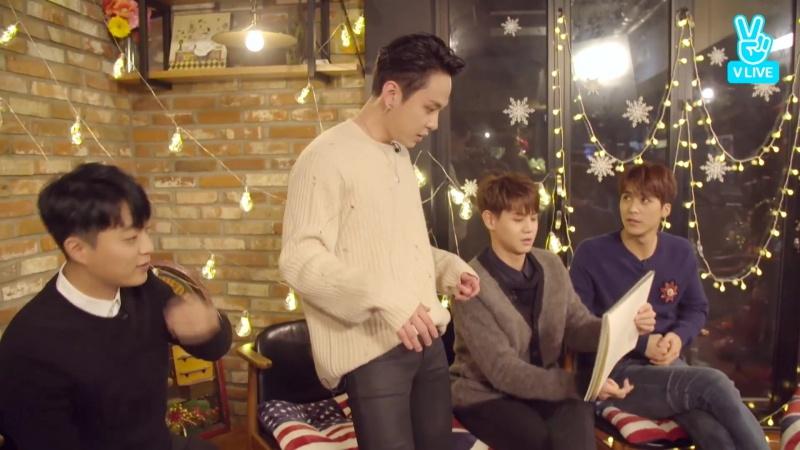 [LIVE] 19.12.2016 Vlive - Hello B2UTYs! It's Been a Long Time, Hasn't It?