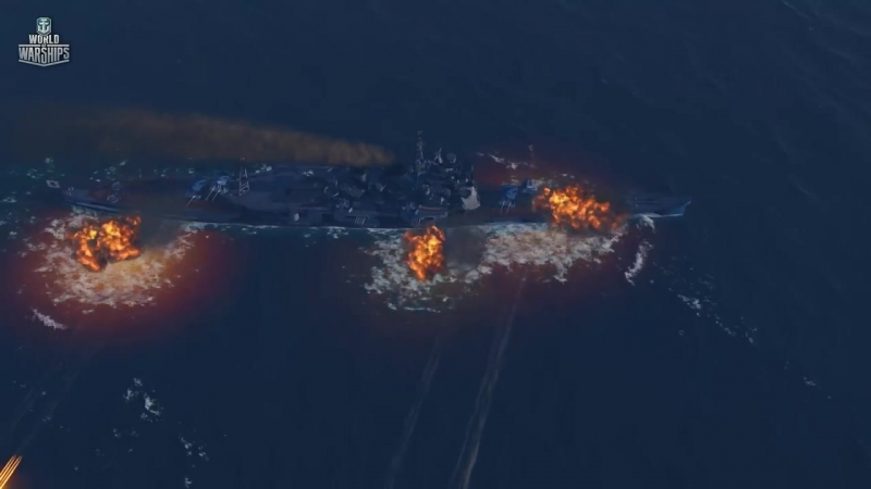 Отчаянный Atago. «НавоевалЪ» № 9 [World of Warships]