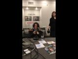 МузОбед №21 - Ольга Дзусова (21.09.2017). Видеотрансляция