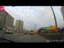 Жесткая авария около Ленты 20.11.17