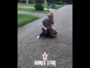 Girl gets ass whooped after talking shit!!