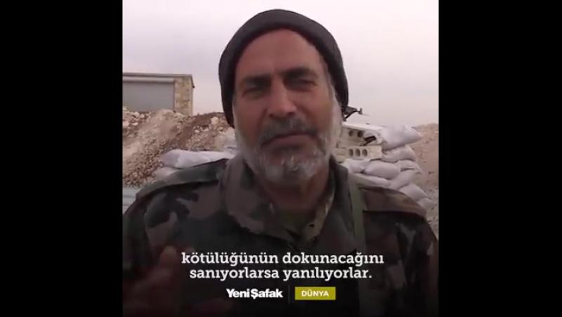 Один из командиров СНА курд ПКК не курды это безбожники