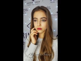 Голливудский макияж.Sabaeva Aleksandra