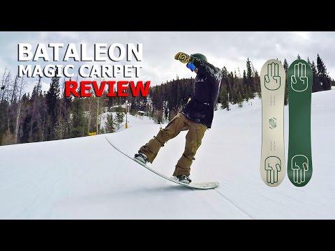 10 Butter Tricks Bataleon Magic Carpet Snowboard Review