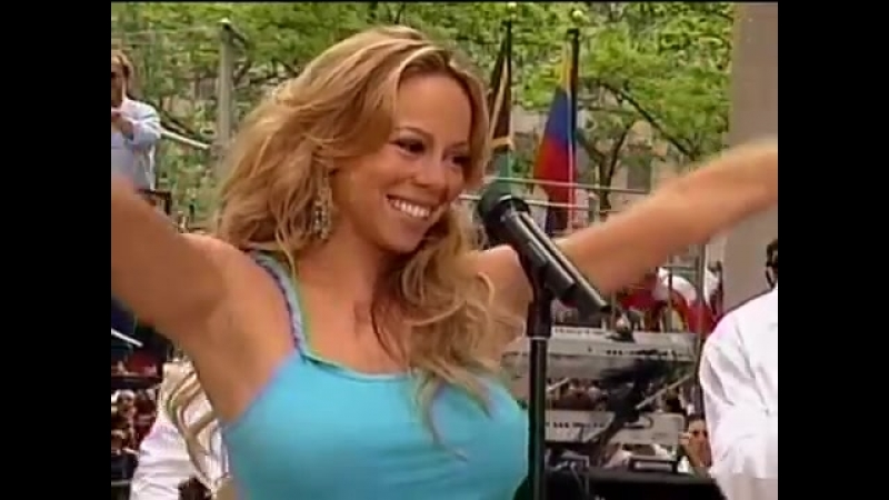 Mariah Carey - Bringin On The Heartbreak (live Today Show 2003)