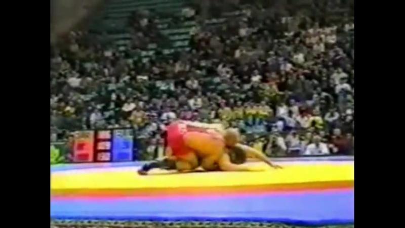 1998 Александр Карелин - Сергей Мурейко (Чемпионат Европы)