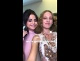 Selena in Petras Instagram Stories