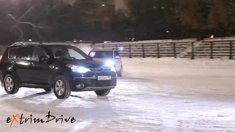 АвтоФигурное катание. Зимний вальс. Танец автомобилей