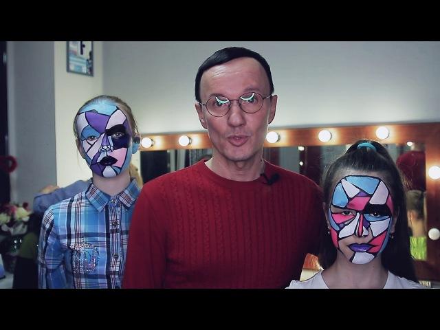 Красочная фотосессия в школе моделей Олега Ажгихина