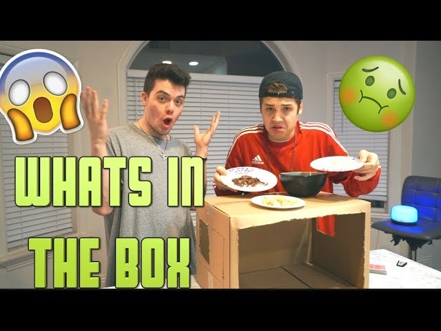 WHATS IN THE BOX CHALLENGE w/ FaZe Adapt
