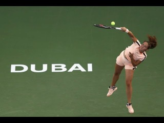 2018 Dubai Semifinal: Daria Kasatkina vs. Garbiñe Muguruza