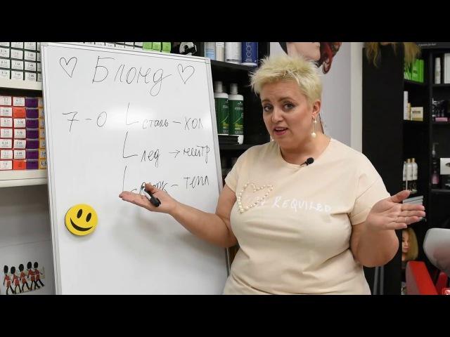 Секреты колориста от Тани Шарк. Секрет № 37. Примеры по окрашиванию в блонд.